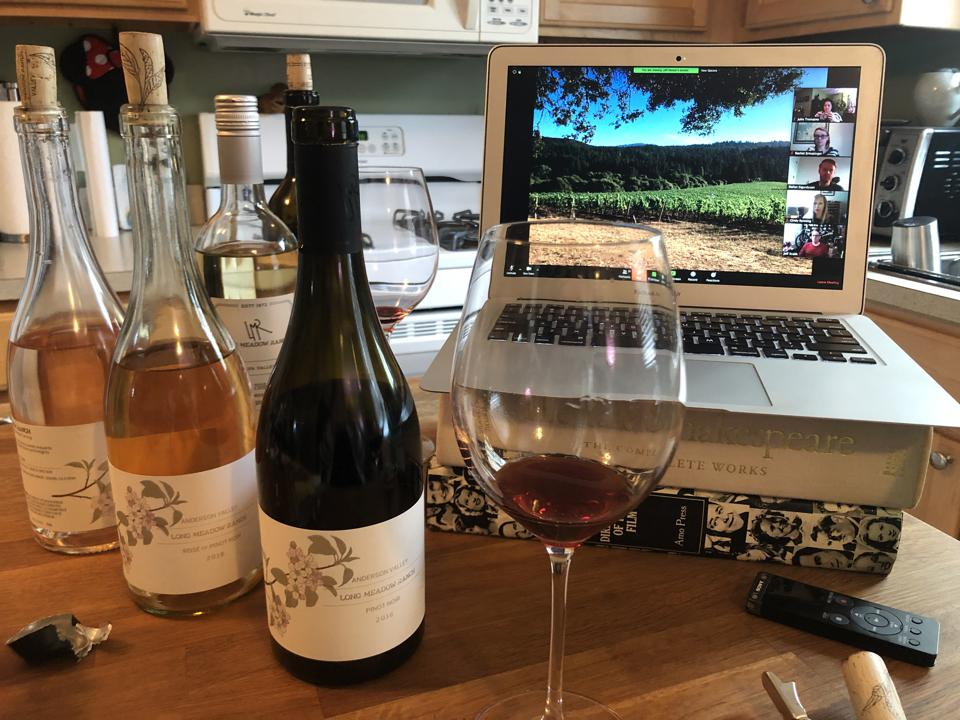 An at-home virtual tasting of Long Meadow Ranch wines
