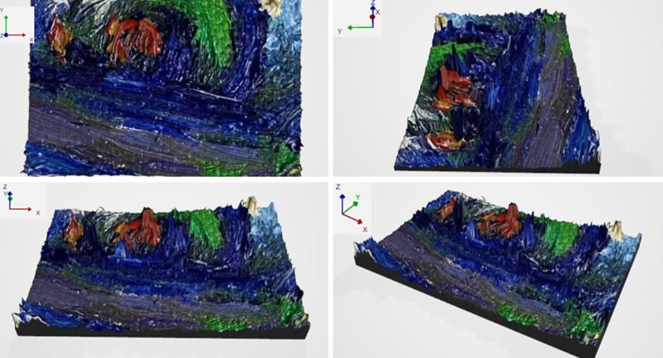 New Art Scanning Method Offers 3-D Image Of Painting's Brush Strokes