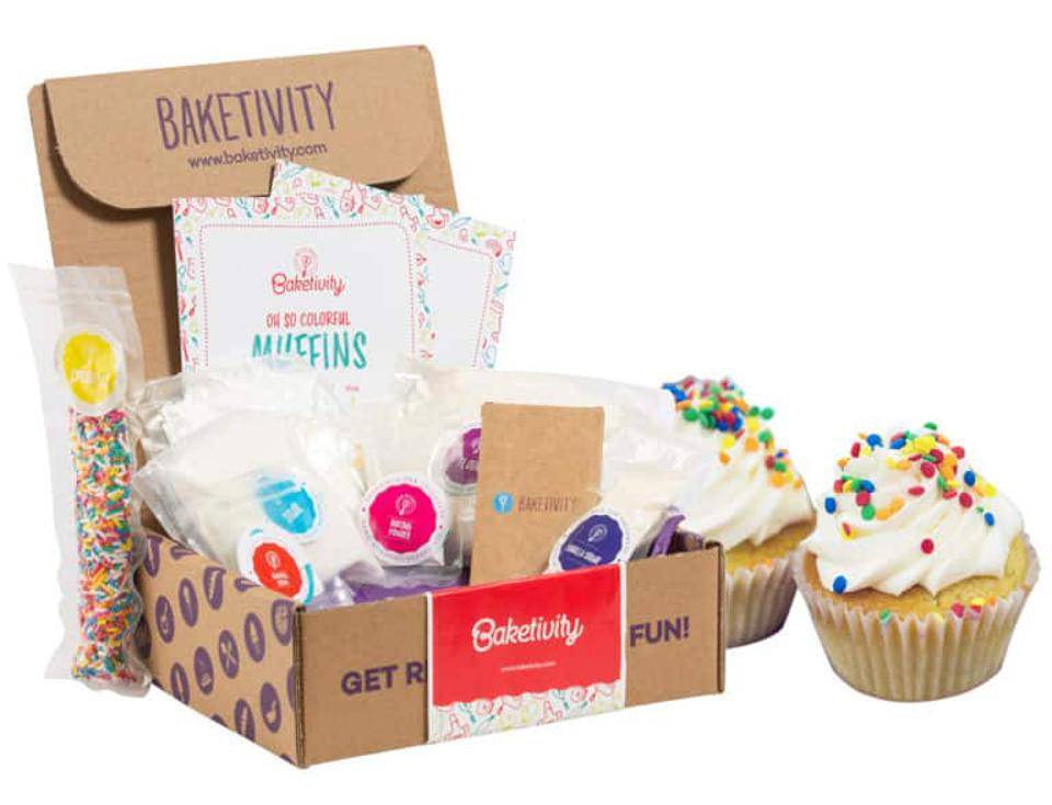 Baketivity Funfetti Muffins Baking Kit