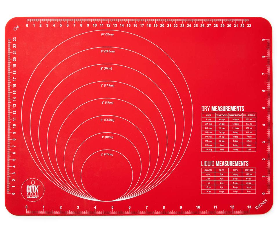 Cook Works Red Silicone Bake Mat