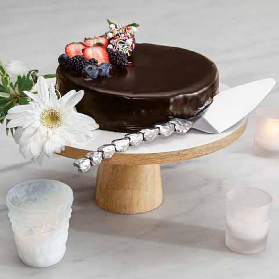 Olive & Cocoa Simple Elegance Cake Stand & Server