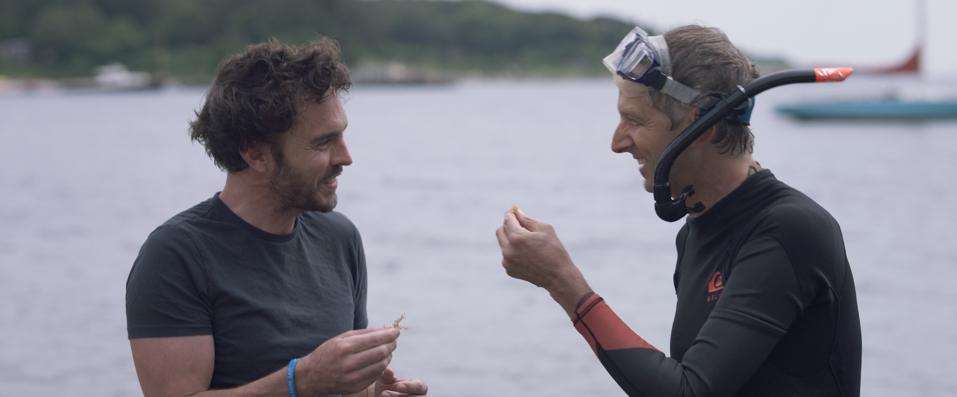 Damon Gameau and Dr. Brian von Herzen