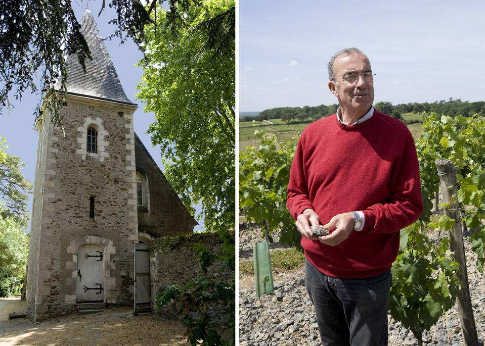 Chateau d'Epiré is one of a handful of producers in Loire Valley's Savennières sub appellation.