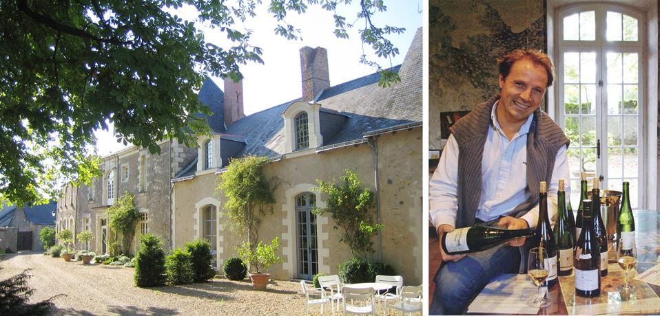 Domaine des Baumard  is one of a handful of producers in Loire Valley's Savennières sub appellation.