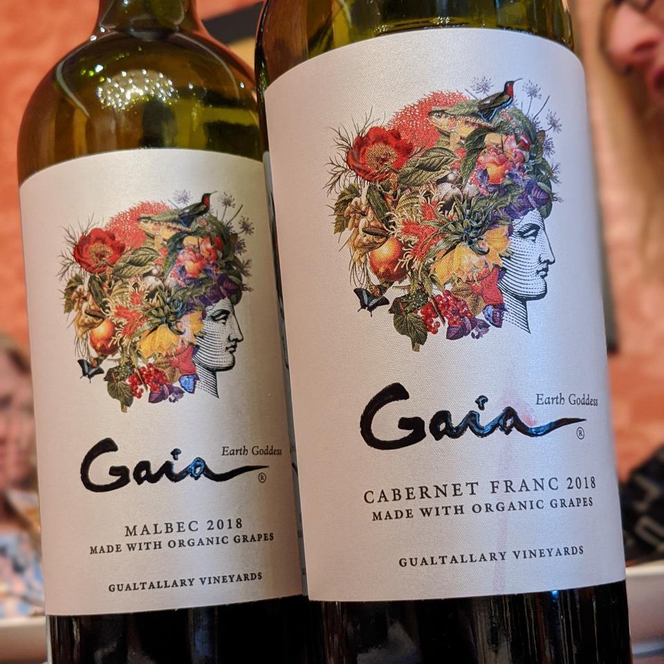 2018 Domaine Bousquet ″Gaia″ Malbec & Cabernet Franc Wines