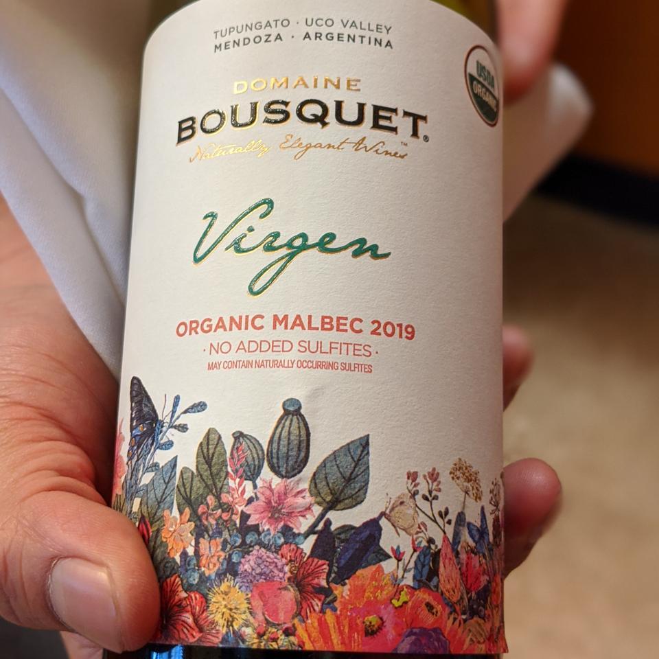2019 Domaine Bousquet ″Virgen″ Malbec
