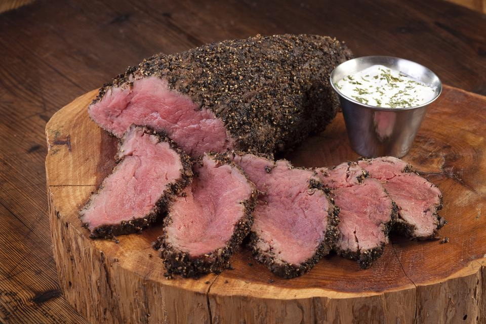 Mesquite Smoked Peppered Beef Tenderloin from Perini Ranch