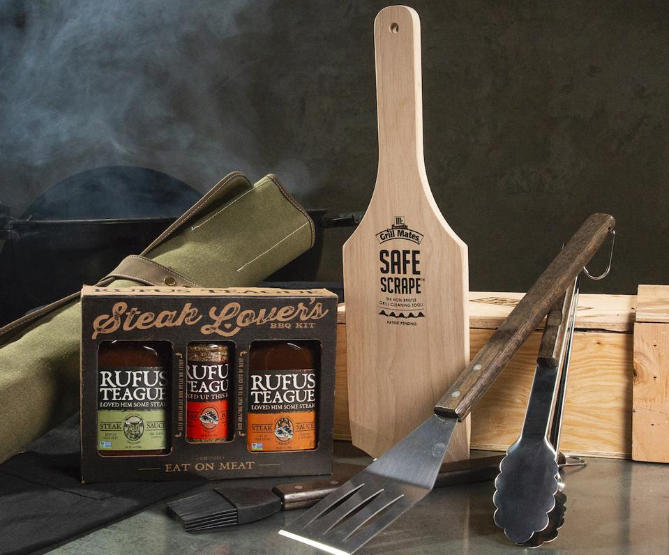 Backyard Steakhouse Crate from Man Crates