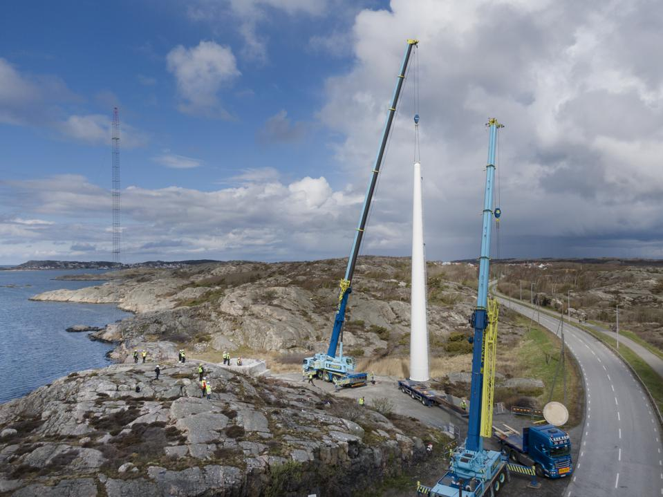 Wooden Turbine Towers Promise To Push Wind Industry To Greater Heights