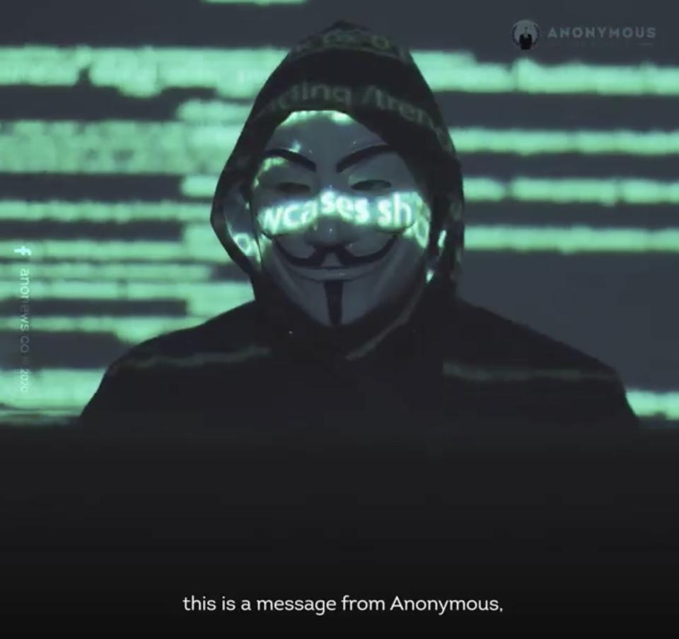 Facebook/Anonymous