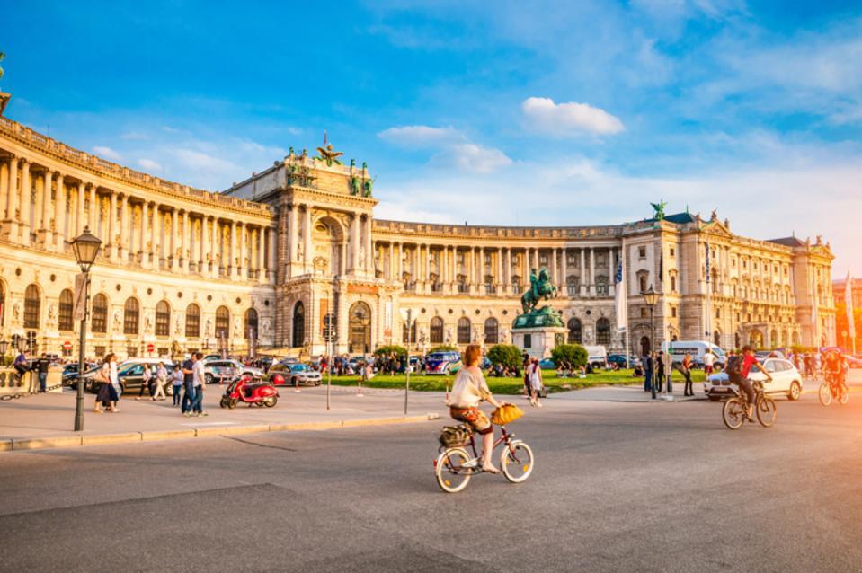 Panoramic view of Viena, Austria