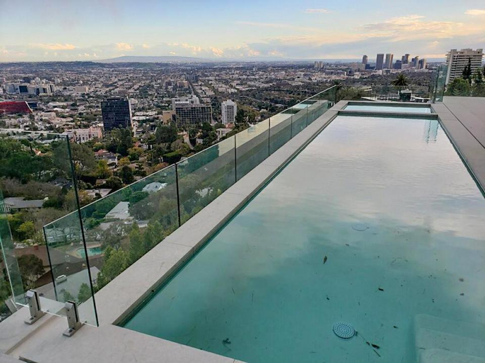 Aquaview Pool Fencing in Los Angeles.