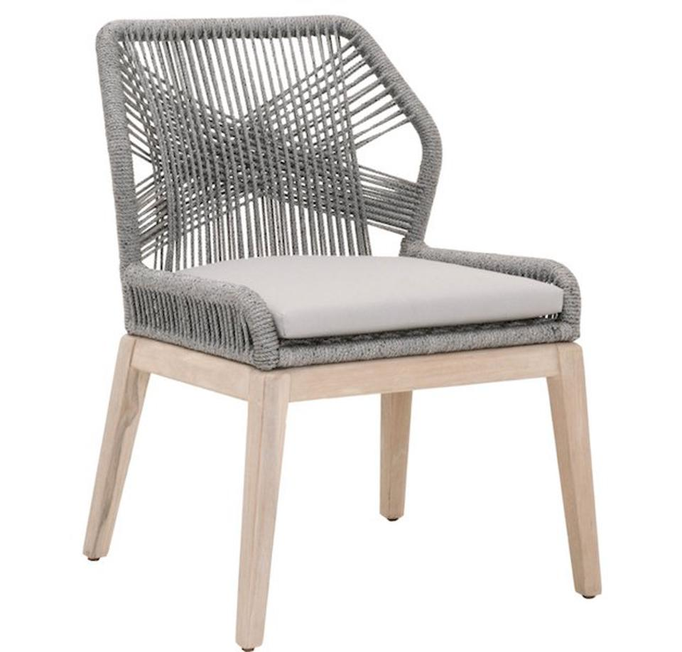 Loom Outdoor Dining Chairs from Paynes Gray