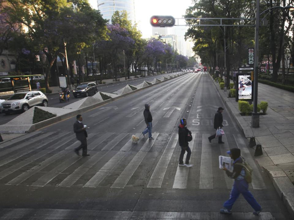 Mexico's day without women, from NPR story 3-6-2020
