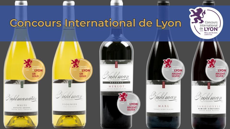 Kuhlman Cellars award-winning wines