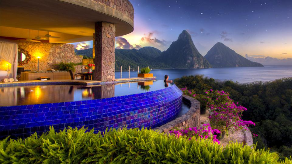 Jade Mountain Resort, a hotel client of Diamond PR located in St. Lucia