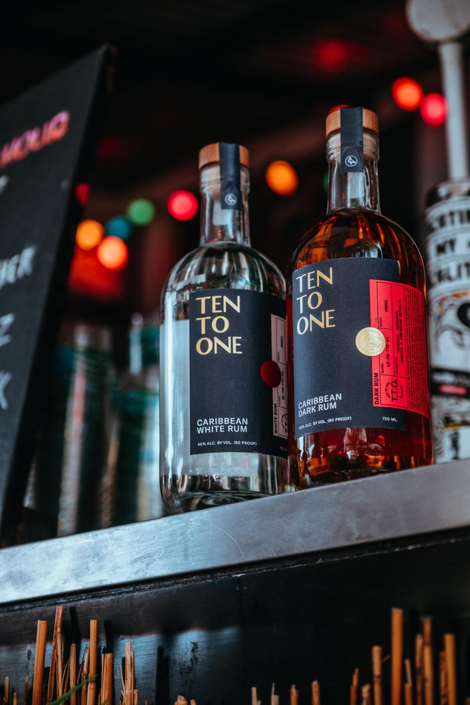 Ten To One Rum launched about a year ago.