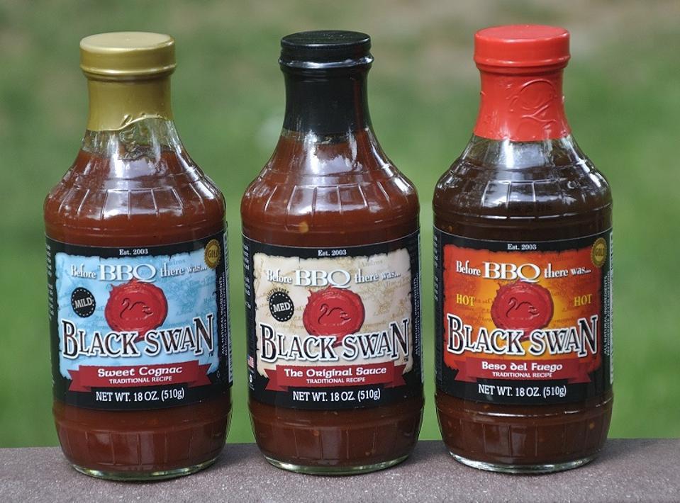 Black Swan Gourmet BBQ Sauces