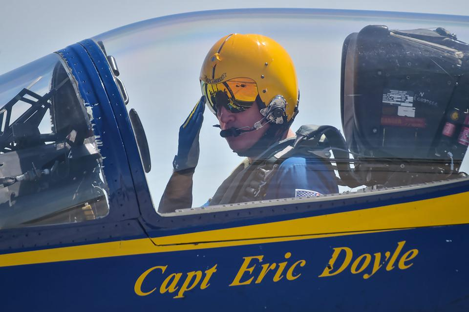 Former Blue Angels boss, Captain Eric Doyle.