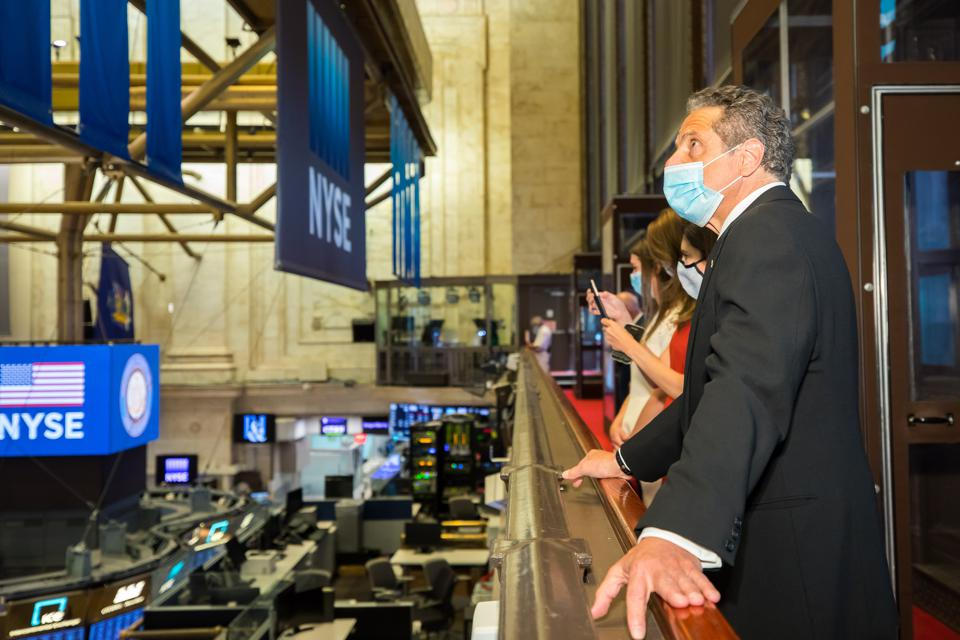 New York Stock Exchange Floor Reopens