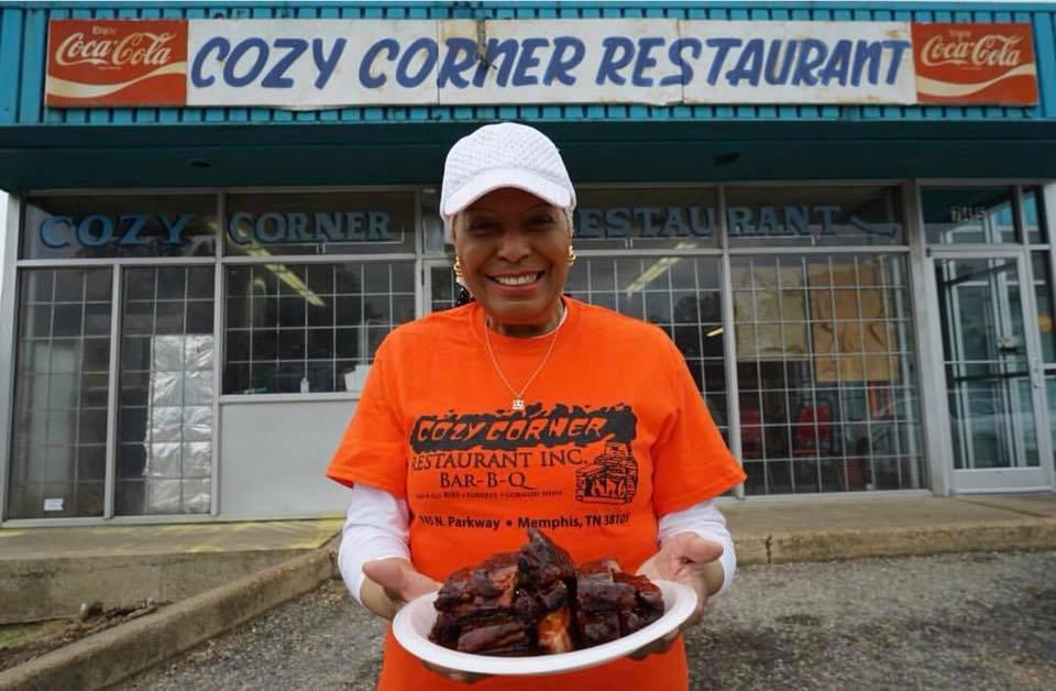 Desiree Robinson is the beloved matriarch of Cozy Corner in Memphis, Tenn.