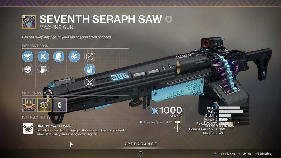The Six Best Destiny 2 Seraph Weapons You Should Farm Before It S Too Late