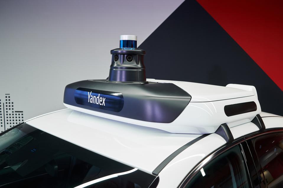 Yandex fourth-generation automated driving prototype based on 2020 Hyundai Sonata