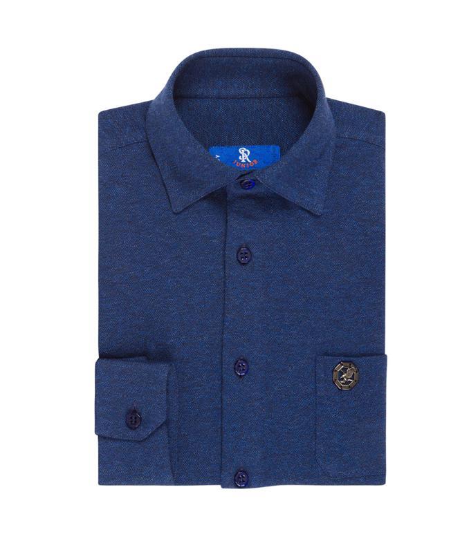 STEFANO RICCI – Handmade Mela knit shirt