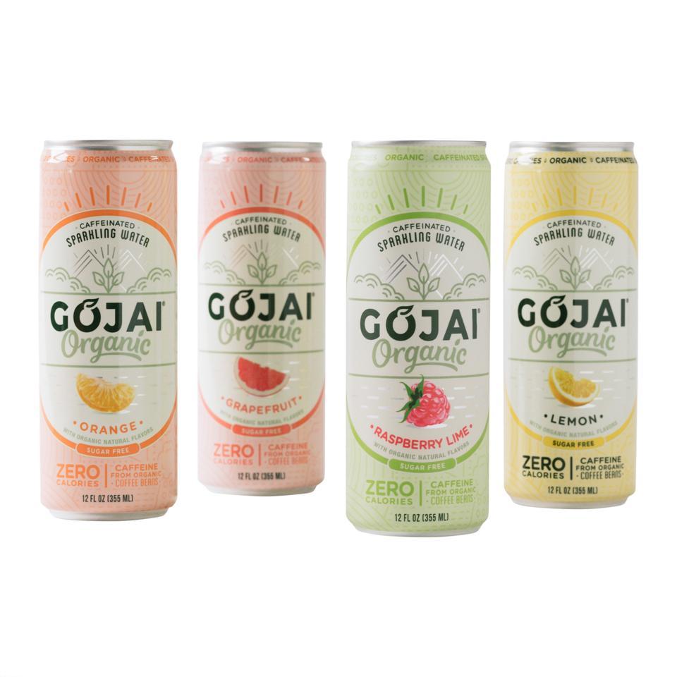 Gojai organic caffeinated water