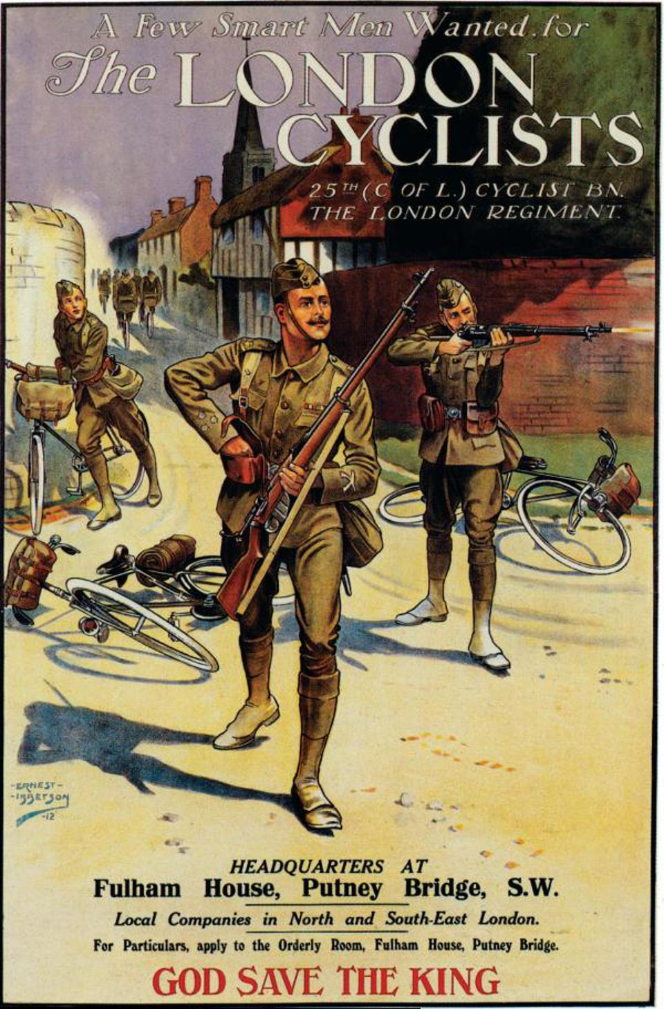 Soldier bicycle