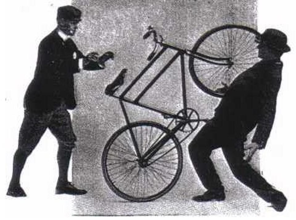 bike footpad