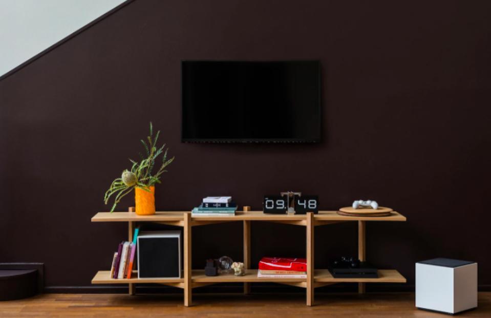 Hem Zig Zag Media Shelf by Studio deFORM