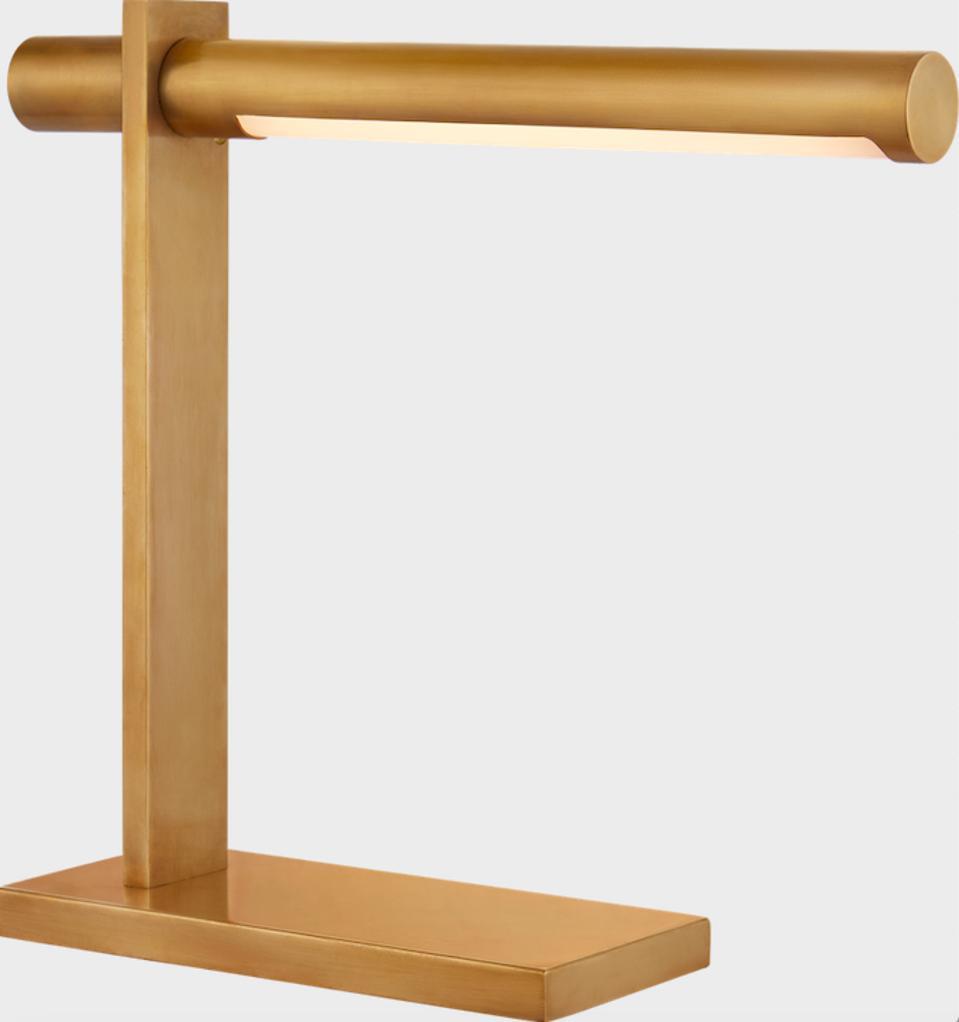 Kelly Wearstler gold desk lamp