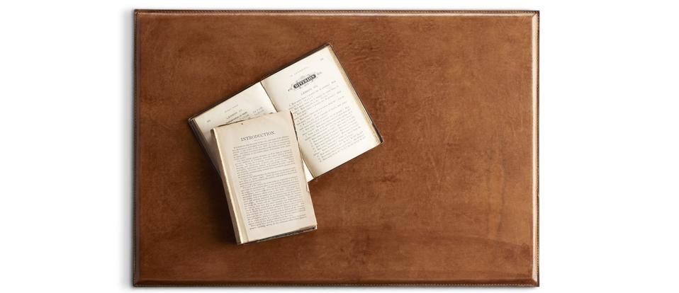 RH Artisan Leather Desk Mat