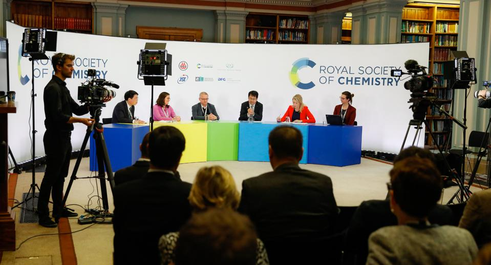 One of the discussions held at the Chemical Sciences and Society Summit