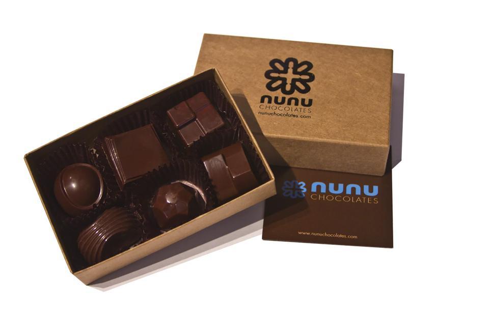 Nunu Chocolates Booze Box