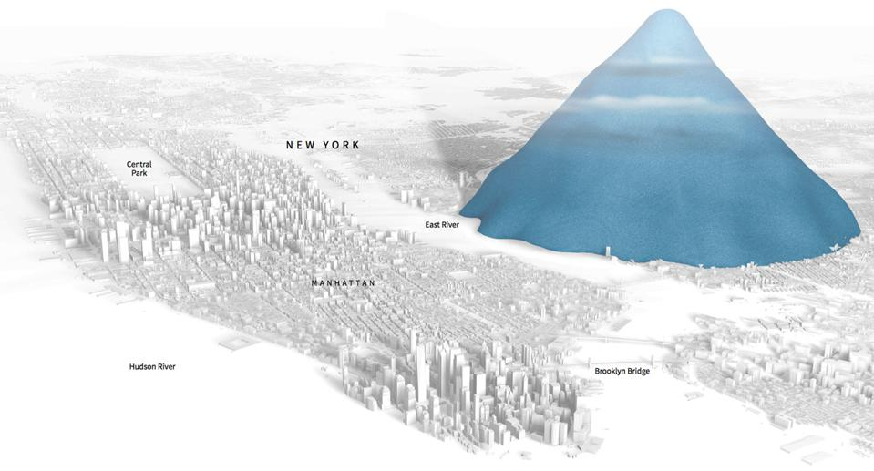 In the past 10 years, 4 trillion bottles have been sold worldwide, enough to dwarf Manhattan