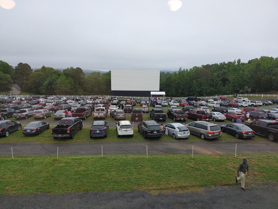 Outdoor Drive-In Theater