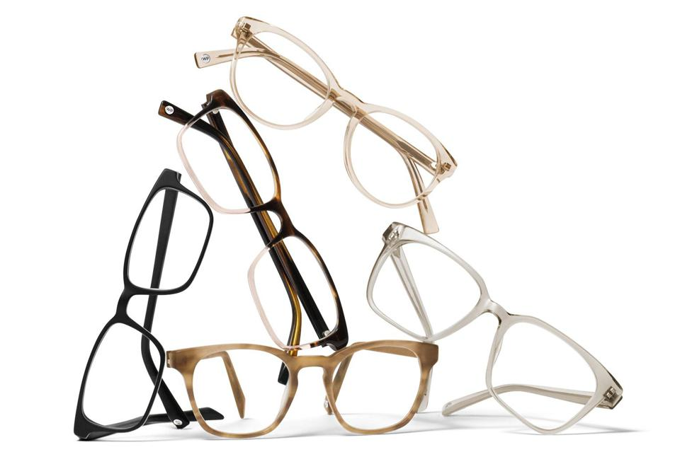 Warby Parker Blue Light lenses and glasses