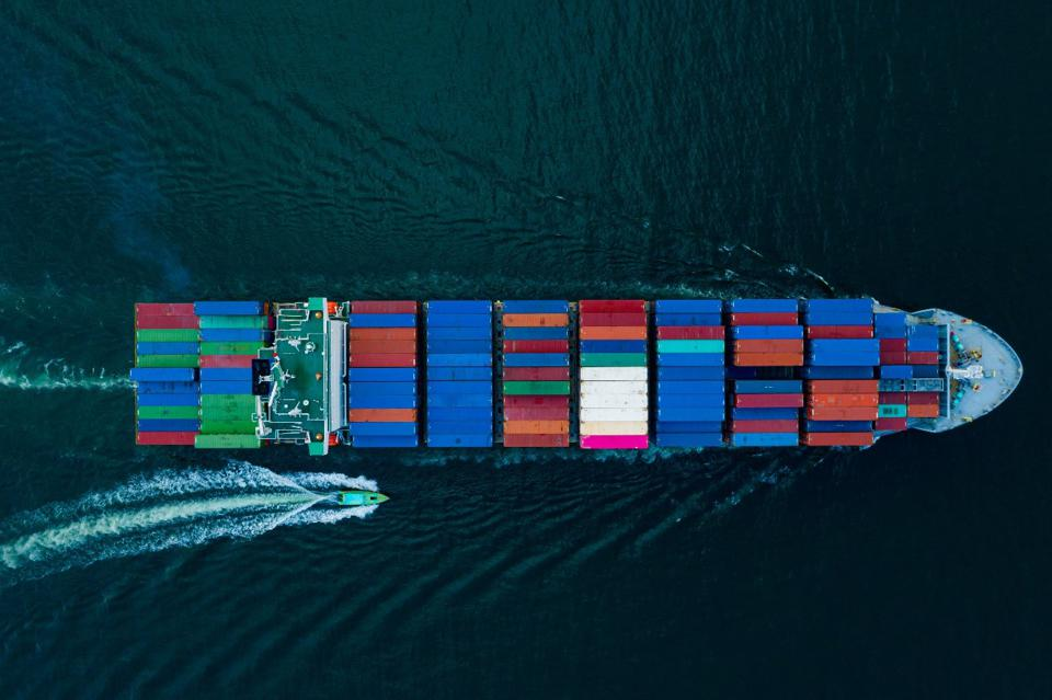 Shipping accounts for about 2.5 percent of global greenhouse gas emissions.