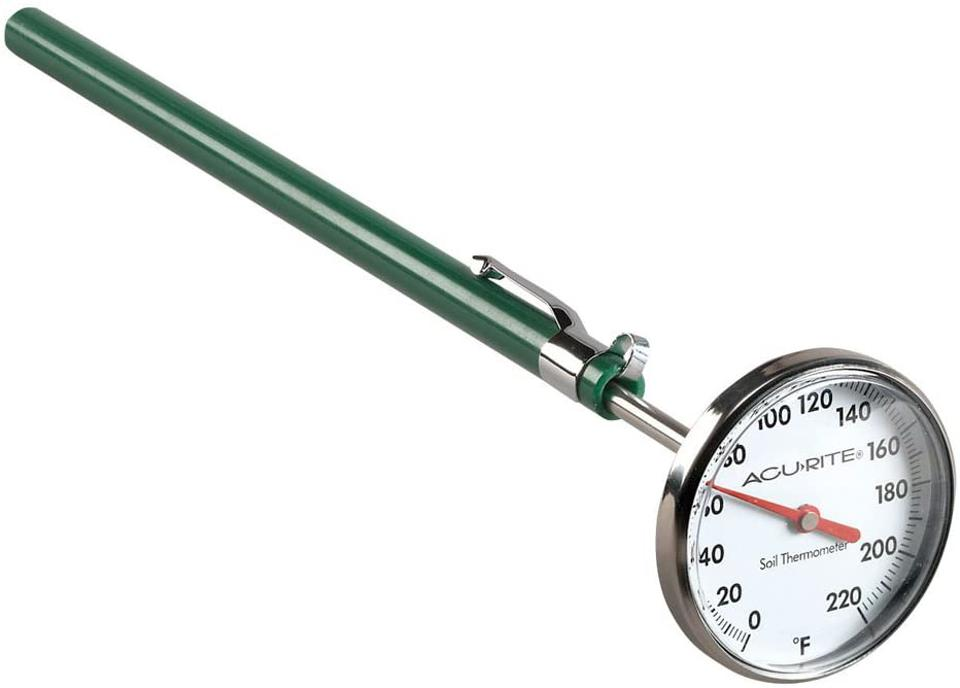 AcuRie green Stainless Steel Soil thermometer