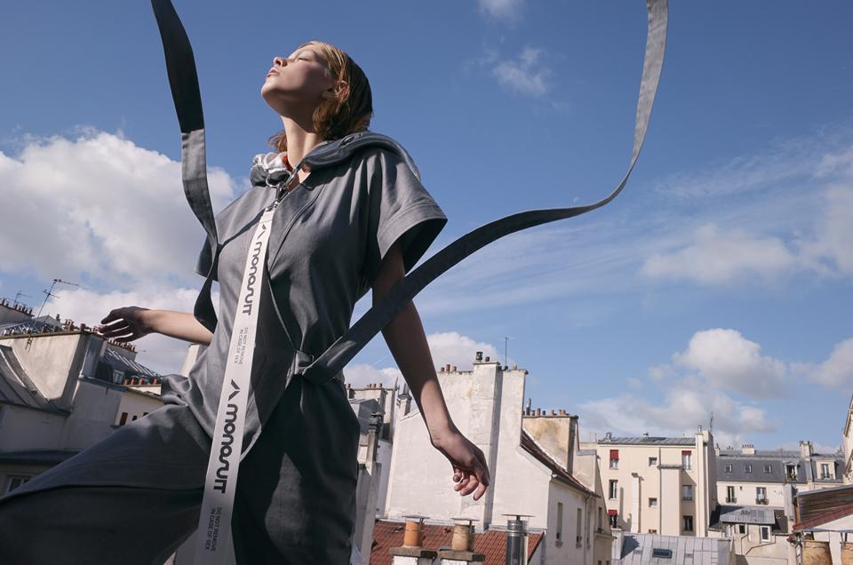 Jumpsuits by MONOSUIT are made using recyclable yarns