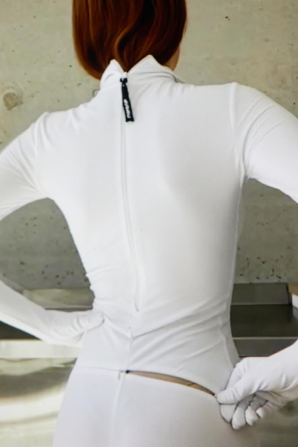 Second Skin by Monosuit also features patented secret zippers