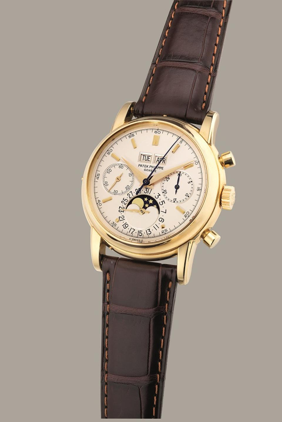 Patek Philippe To Lead Phillips Hong Kong Watch Auction