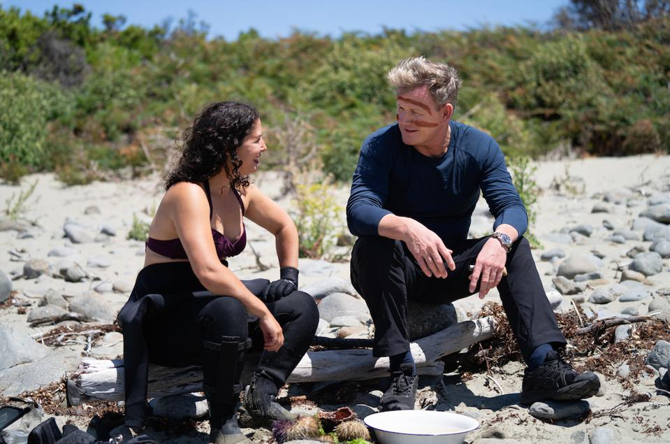 The first episode of Gordon Ramsay: Uncharted Season Two sees Tasmania-based chef Analiese Gregory cook off with Ramsay.
