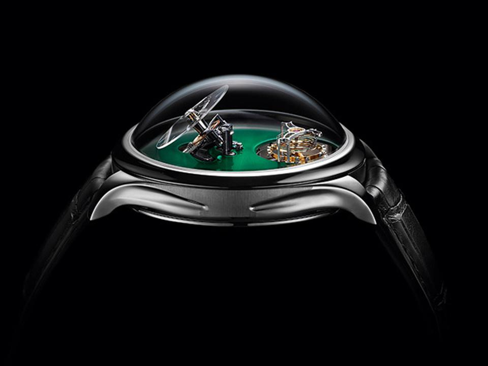 Watchmaking At Its Most Creative: MB&F And H. Moser Team Up For An Adventure In Minimalism