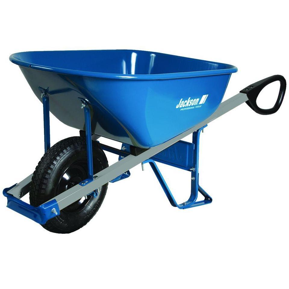 Blue Jackson 6 cu. ft. wheelbarrow