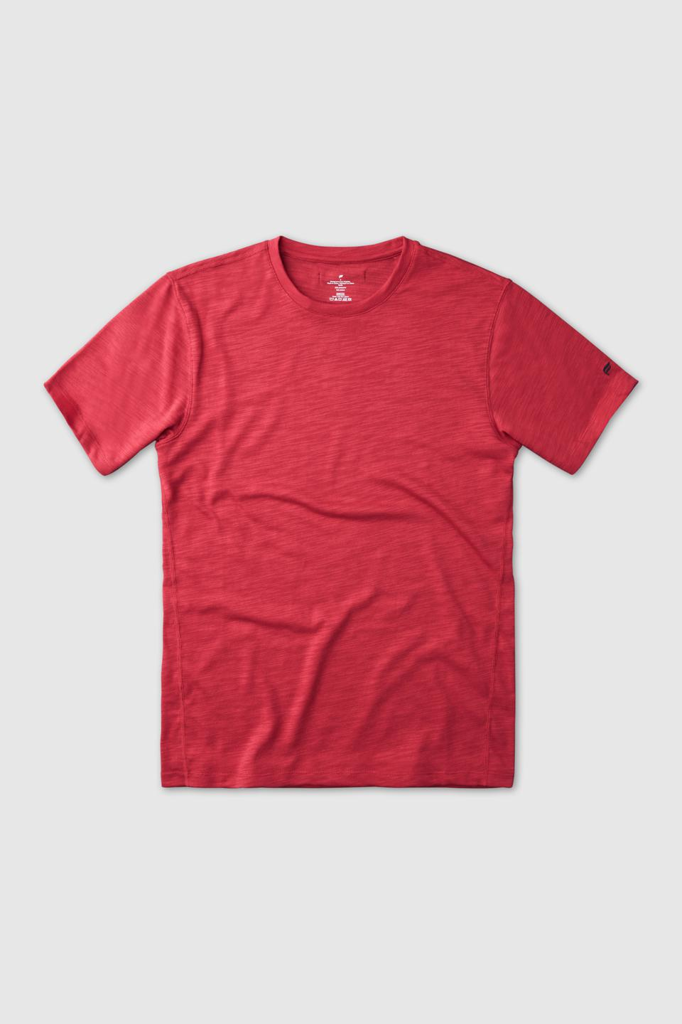 The Front Row Tee in Poppy Red Retail Price: $34.95 (VIP), $49.95