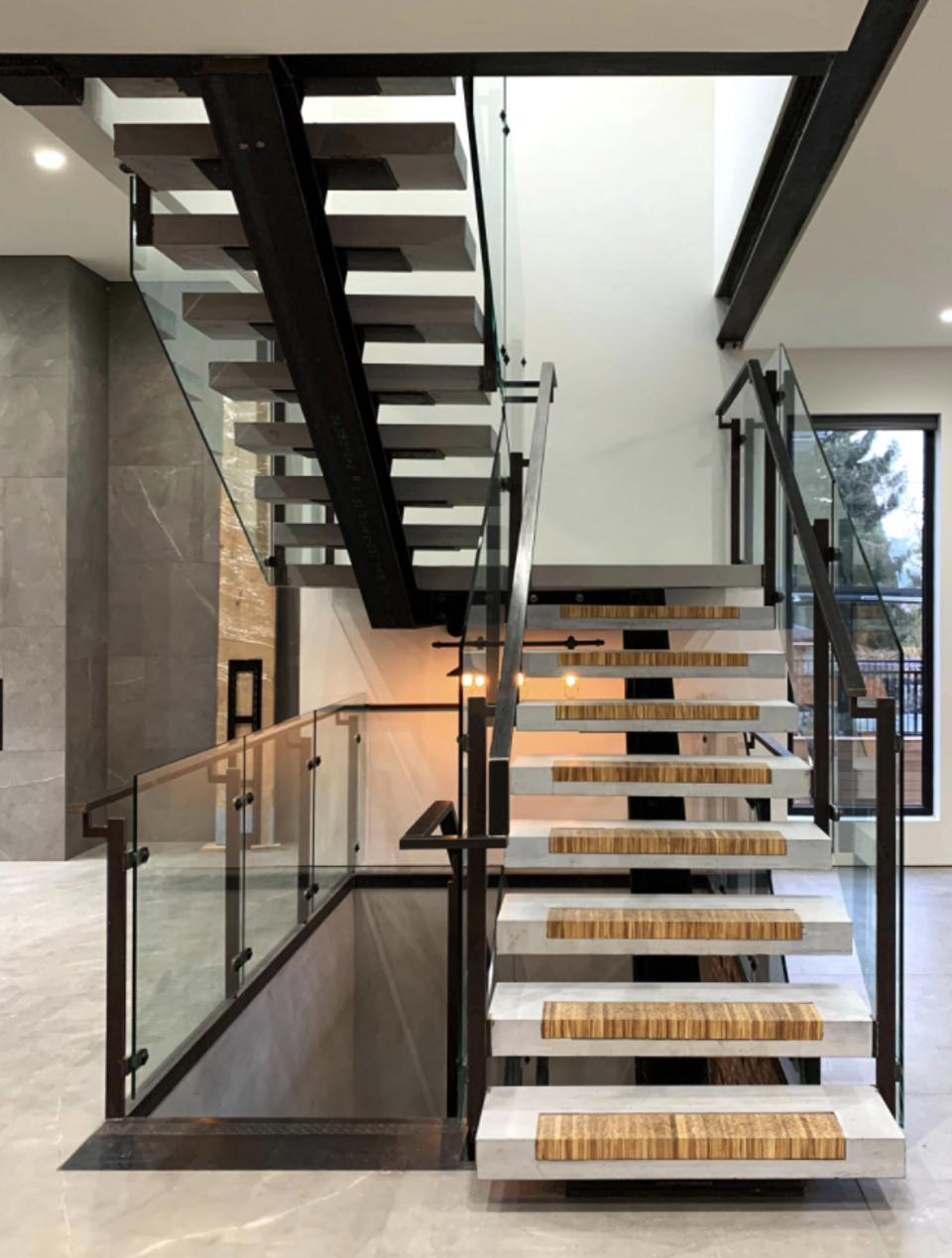 A Staircase with ChopValue inserts