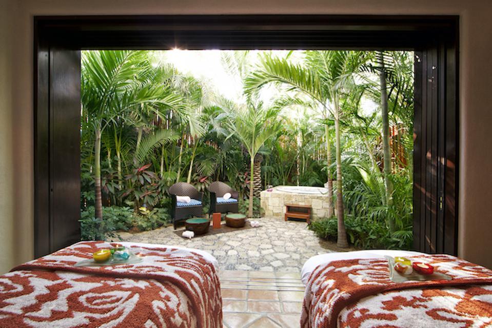The spa at Las Ventanas al Paraiso